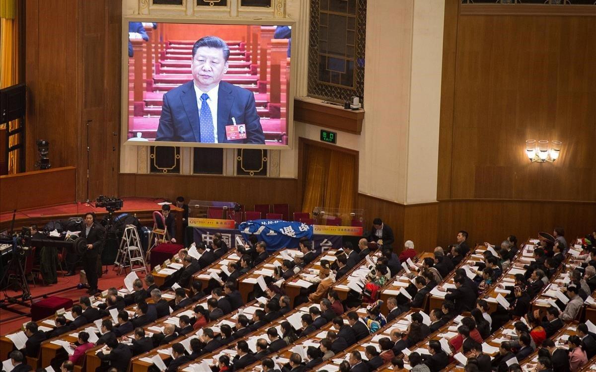 Pequín celebra l'Assemblea Nacional per escenificar la tornada a la normalitat