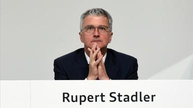 Detingut el president d'Audi pel 'dieselgate'