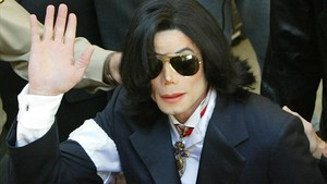 Michael Jackson, en enero del 2004.