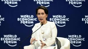Suu Kyi justifica l'empresonament dels periodistes que investigaven la matança de rohingyes