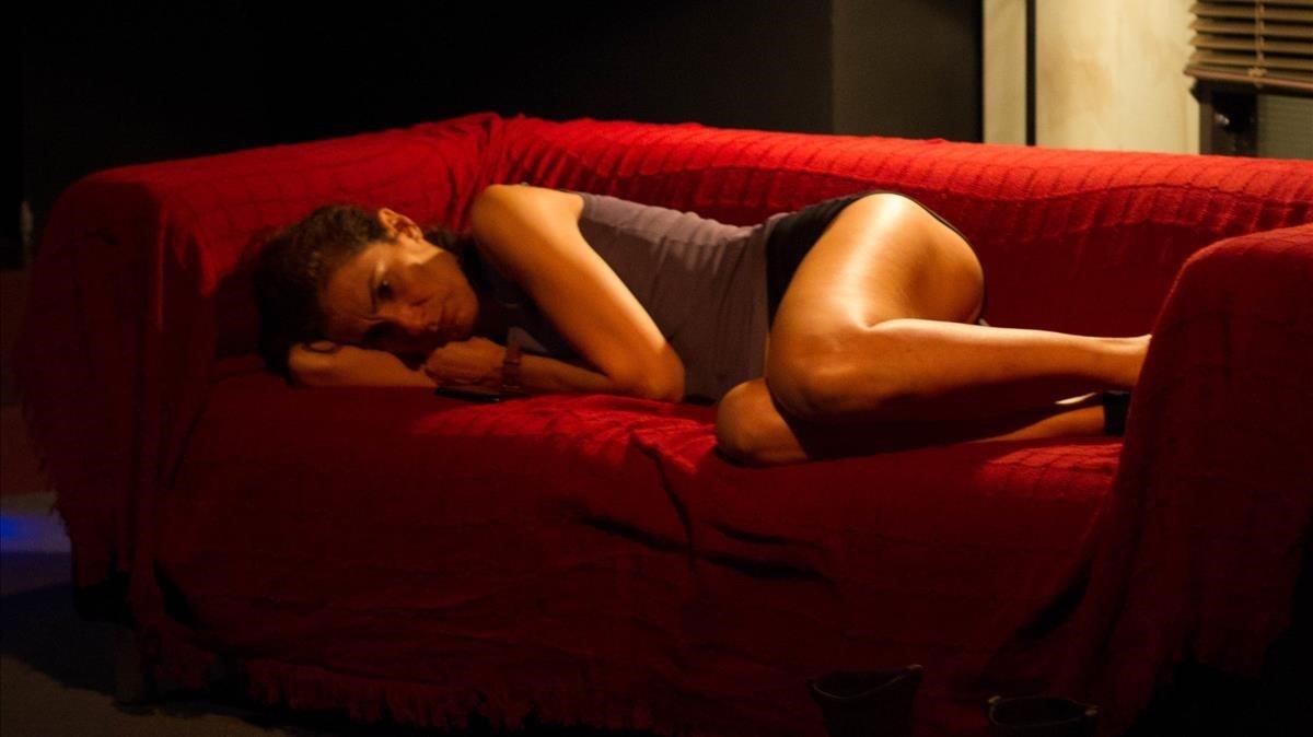 Maria Pau Pigem, en una escena de 'Només una vegada'.