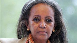Sahlework Zewde, la nueva presidenta de Etiopía.