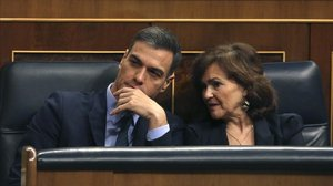 Sánchez posa rumb a les urnes al caure els Pressupostos
