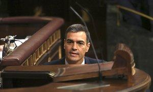 Sánchez proposa garantir per llei un 5% del PIB en educació i generalitzar Madrid Central