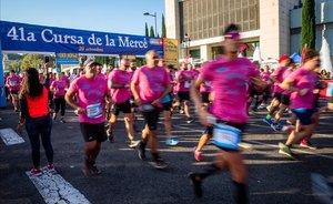 La Cursa de la Mercè es farà el 20 de setembre sense límit de corredors