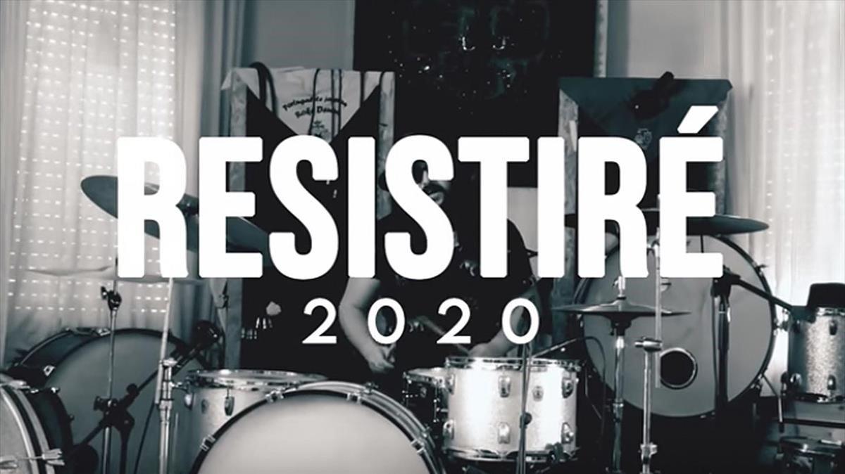 'Resistiré', el himno coral de artistas contra el coronavirus
