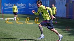 Messi confirma la seva continuïtat fins al 2021 al Barça