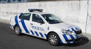 Un coche de la policía portuguesa.