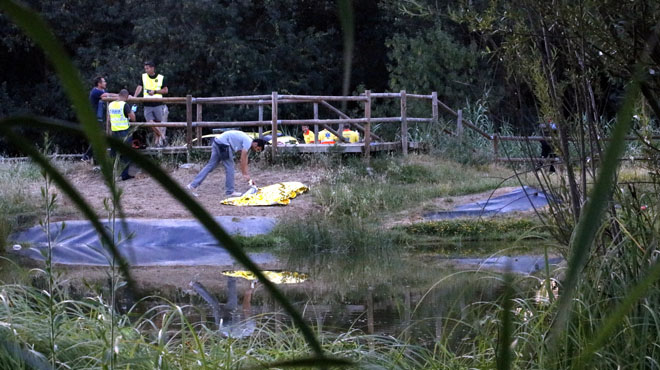 Un nen de 10 anys sofega en un estany a Girona