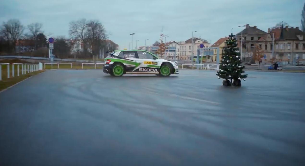 koda motorsport fabia r5 raced passengers through pragueyoutubecom