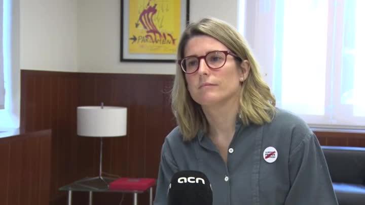 Elsa Artadi defensa un Govern bicèfal entre Brussel·les i Barcelona