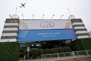 Vista general del predio de Costa Salgueroen Buenos Aires (Argentina). Mientras se van limando los detalles de agenda de la cumbre del G20 en la que participarán los presidentes de las mayores economías en desarrollo o emergentes y los altos representantes de la Unión Europea y de organismos internacionales. EFE/Juan Ignacio Roncoroni