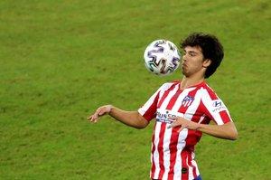 El atlético Joao Félix durante un partido.