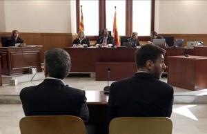 Leo Messi i el seu pare, a judici, en directe