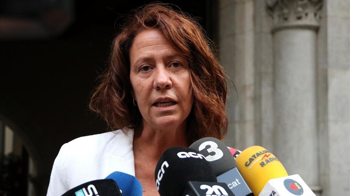 La alcaldesa de Girona, Marta Madrenas, el pasado 17 de octubre.