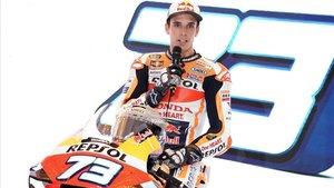 Àlex Márquez, en una imagen promocional de su equipo.
