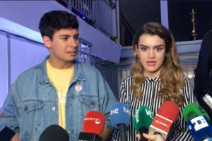 """Primeras declaraciones de Amaia y Alfred tras quedar en el puesto 23 en Eurovisión: """"Es una mierda, pero estamos contentos"""""""