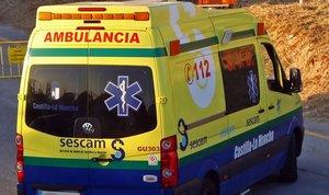 Ambulancia de Castilla-La Mancha.