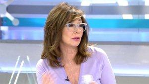 """Ana Rosa preocupa al toser varias veces durante su programa: """"Es alergia"""""""