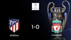 El Atlético de Madrid toma ventaja en el encuentro de ida de octavos de final después de ganar 1-0 contra el Liverpool