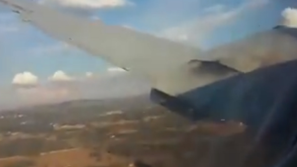 La avioneta accidentada en Pretoria (Sudáfrica).