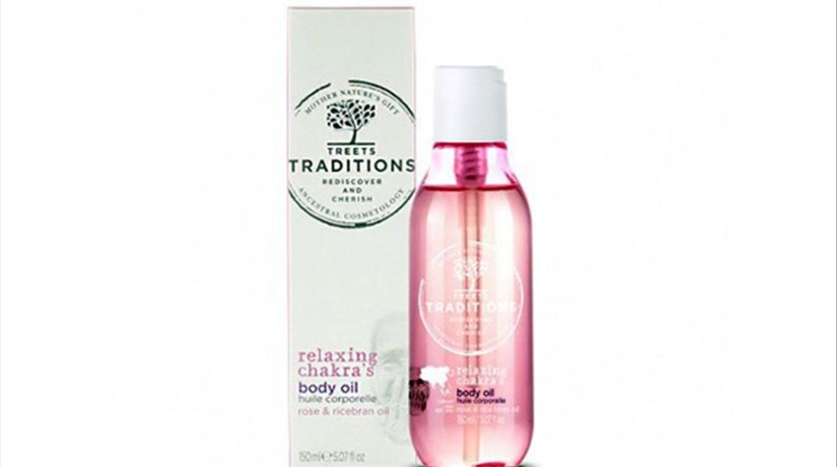 Treets Traditions propone el aceite corporal Relaxing Chakra 3.