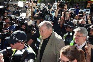 El cardenal australiano George Pell, exjefe de las Finanzas del Vaticano, ascusado de abusos sexuales.