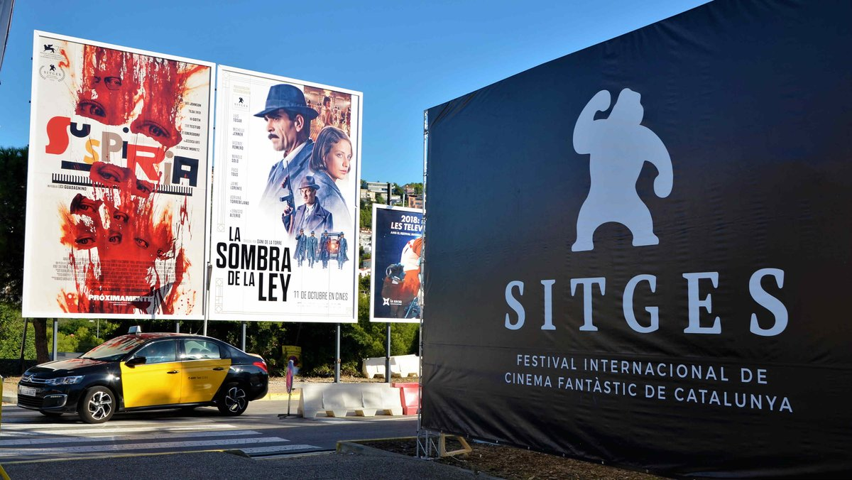 Carteles de películas que se proyectarán en la presente edición del Festival de Sitges.