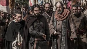 Imagen de La catedral del mar serie que Antena 3 tiene previsto estrenar la próxima temporada.