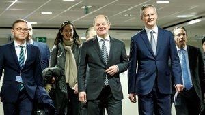 Tèbia acollida al pla de pressupost franco-alemany per a l'eurozona