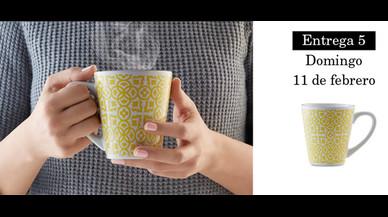 Colección de tazas modernistas de Pilma. Entrega 5