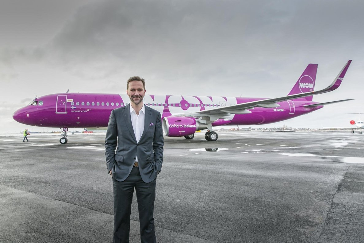 El consejero delegado de Wow Air, Skúli Mogensen.