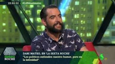 """Dani Mateo dice que Albert Rivera de joven era """"muy guapo"""" y """"odioso"""""""