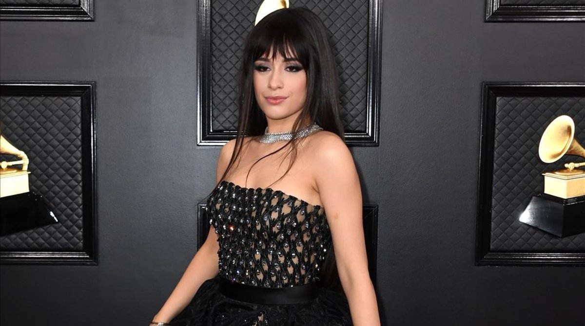 Camila Cabello, en los Grammy 2020.