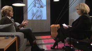 Sílvia Cóppulo yTeresa Gimpera conversan en 'El divan'.