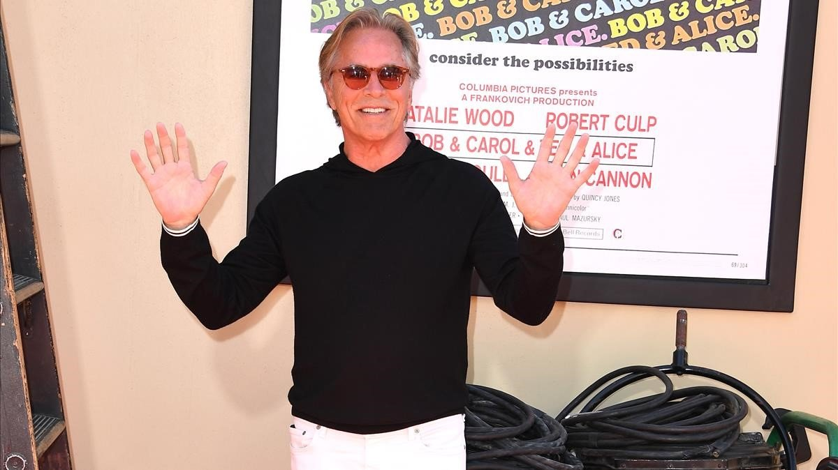 Don Johnson, en la presentación de 'Érase una vez... en Hollywood'.
