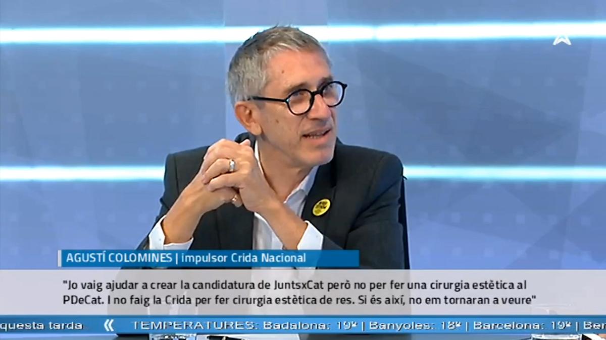 Entrevista Susanna Barreda, Ruben Wagensberg y Agustí Colomines en La Xarxa.