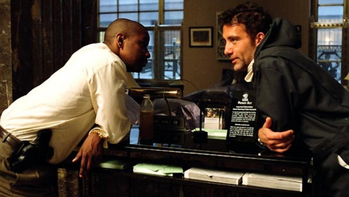 Escena de 'Plan oculto', la película protagonizada por Denzel Washington.