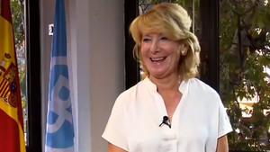 La expresidenta del PPmadrileñoEsperanza Aguirre.