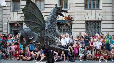 El barri Gòtic abre el calendario de fiestas en Barcelona con Sant Roc
