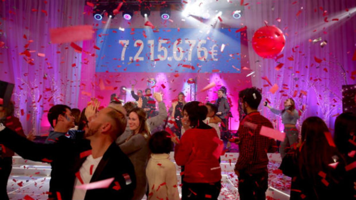 'La Marató' de TV-3 recapta per ara 7.215.676 euros