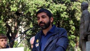 El 'conseller' de Treball, Afers Socials i Famílies, Chakir El Homrani