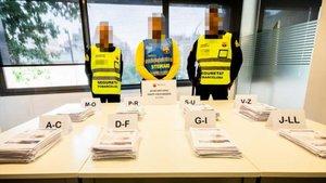 Detingudes cinc persones que venien entrades falses per al Madrid-Barça