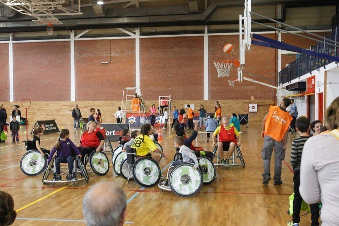 La Jornada del Deporte Inclusivo de Sant Boi se celebrará este domingo en el polideportivo La Parellada