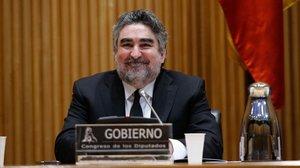 José Manuel Rodríguez Uribes, ministro de Cultura y Deportes.