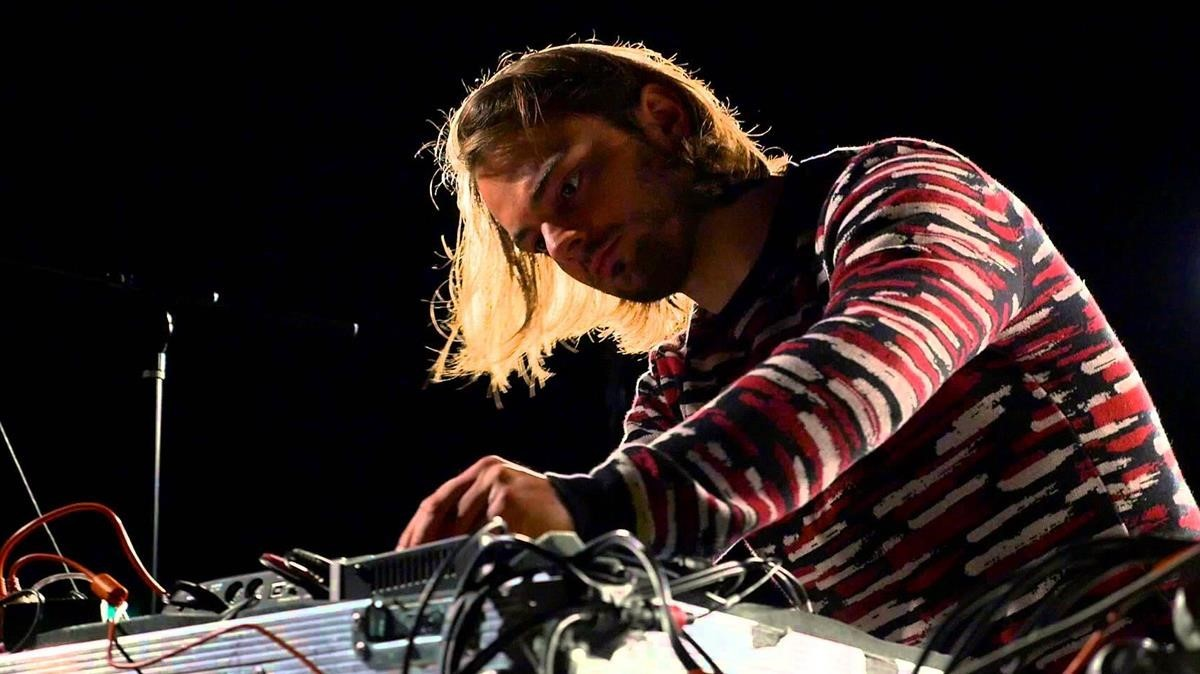Janus Rasmussen, la mitad del dúo Kiasmos.