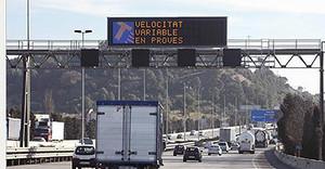 En lesautopistes i autovies s'augmentarà el límit fins a 130 km/h.