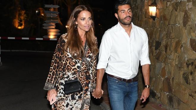 Paula Echevarría y Miguel Torres, en Estepona el mes pasado.
