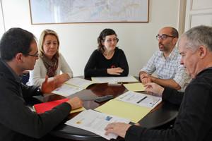 Los Ayuntamientos de Terrassa, Castellar del Vallès, Matadepera y Sentmenat reunidos para reclamar conjuntamente la mejora de la C-1415a.