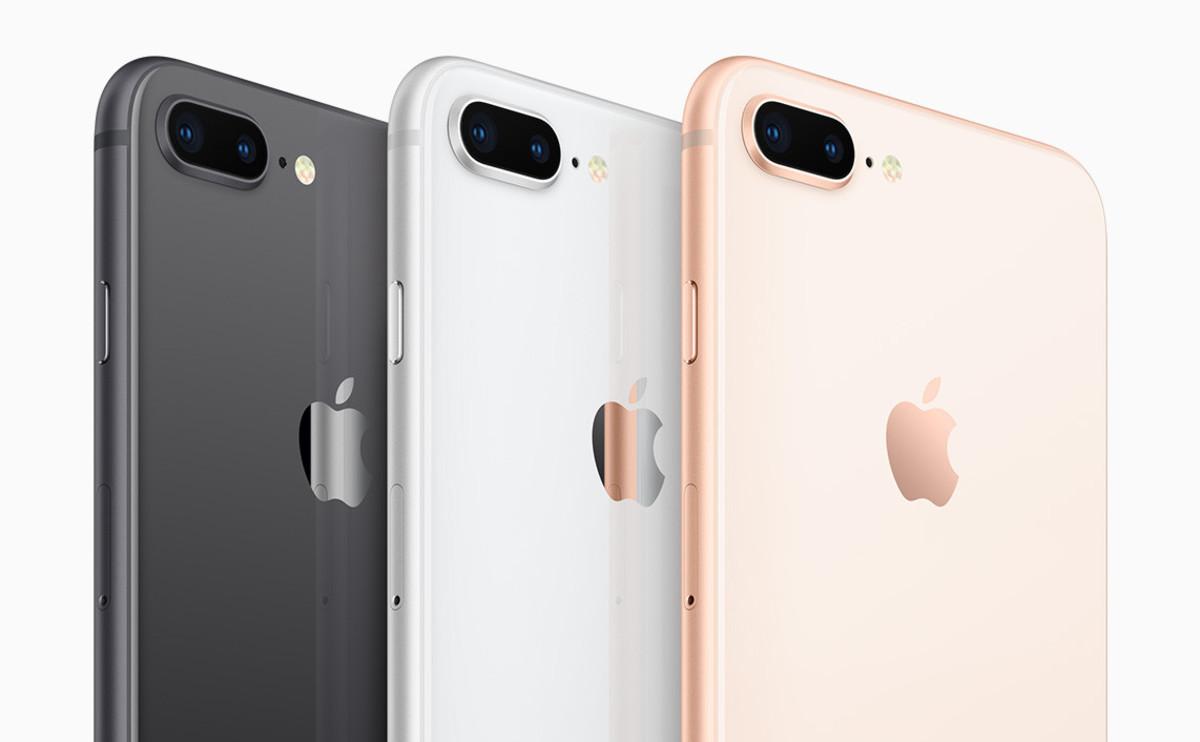 Los nuevos iPhone 8.
